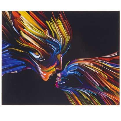 Картина без рамы 40х50 см Цвета любви