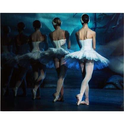 Картина без рамы Балерины 40х50 см
