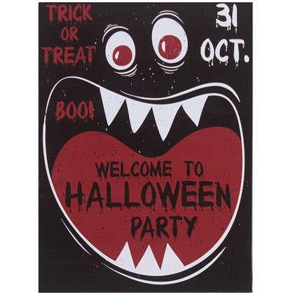 Картина на холсте 30х40 см Welcome to party