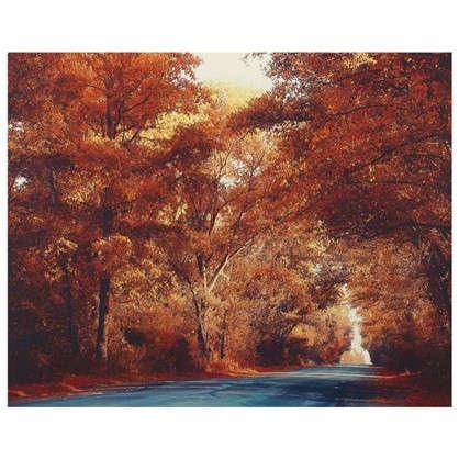 Картина на холсте 40х50 см Осень