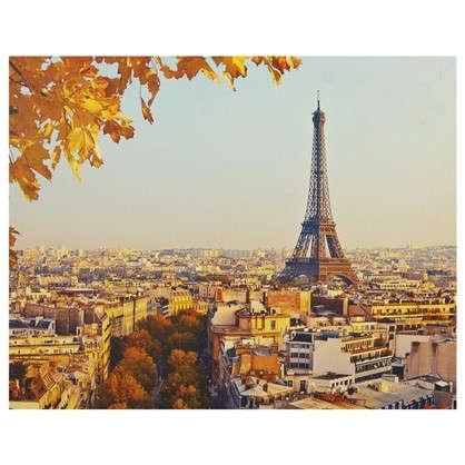 Картина на холсте 40х50 см Осень в Париже