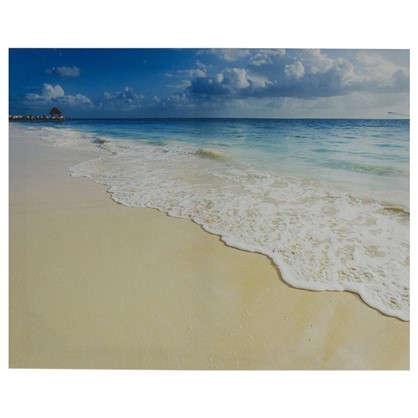 Картина на холсте 40х50 см Песок и море