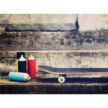 Картина на холсте 40х50 см Скейт