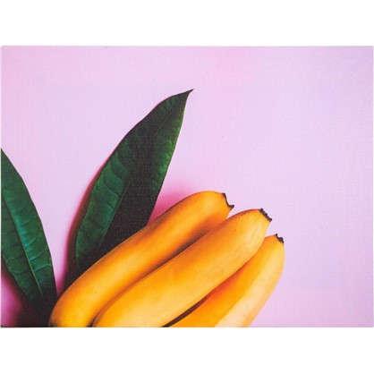 Картина на холсте Бананы 30х40 см
