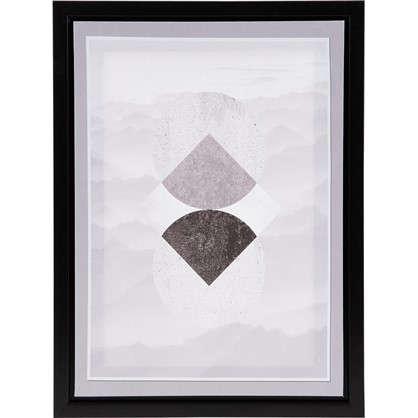 Картина на холсте в раме Фигуры 30х40 см