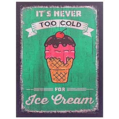 Картина на МДФ Мороженое 30х40 см
