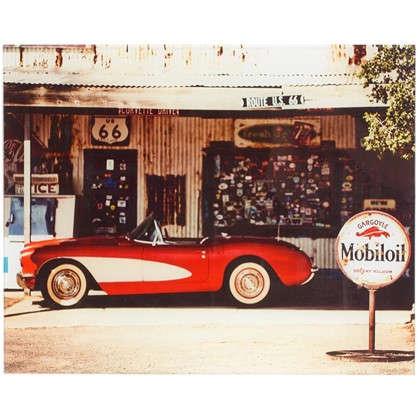 Картина на стекле 40х50 см Corvette car