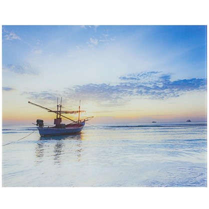 Картина на стекле 40х50 см Вечернее море