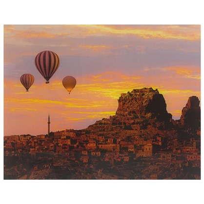 Картина на стекле 40х50 см Воздушные шары