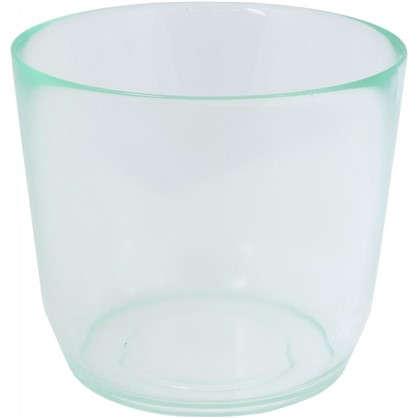 Кашпо 1.3 л 171 мм стекло цвет прозрачный