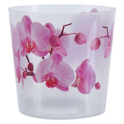 Кашпо Деко для орхидеи 1.2 л 125 мм пластик