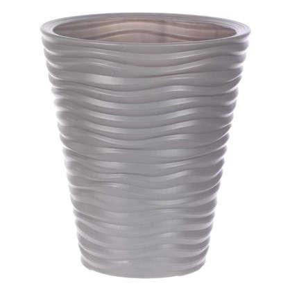Кашпо Дюна 19.5 л 385 см цвет серый