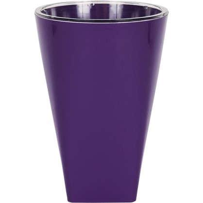 Кашпо Грейс 12.5 см цвет фиолетовый