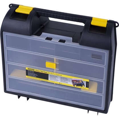 Кейс для электроинструмента Stanley 359х325х136 мм пластик цвет черный/желтый