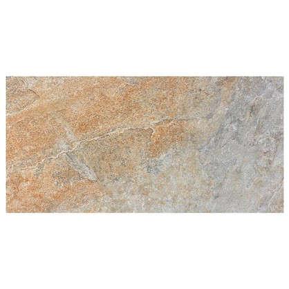 Керамогранит Бергамо 30х60 см 1.62 м2 цвет серо-бежевый