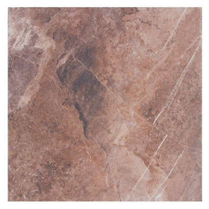 Керамогранит Лава 45х45 см 1.013 м2 цвет коричневый