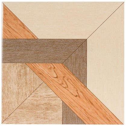Керамогранит Рома 33х33 см 1.307 м2 цвет коричневый