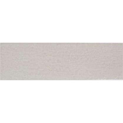 Керамогранит Teo 25х7.5 см 0.79 м² цвет светло-серый глянцевый