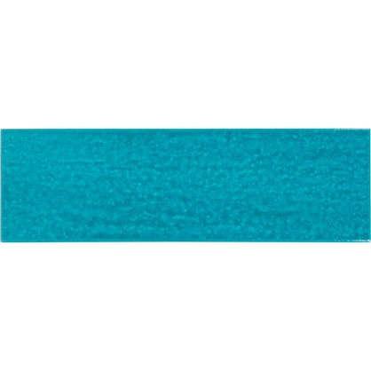 Керамогранит Teo 25x7.5 см 0.79 м2 цвет бирюзовый глянцевый