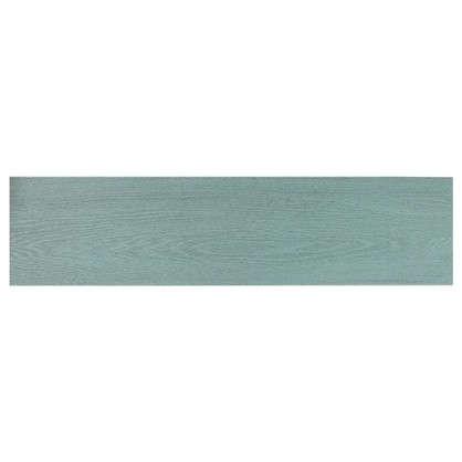 Керамогранит Вяз 9.9х40.2 см 1.11 м2 цвет бирюзовый