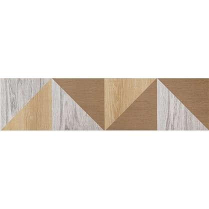 Керамогранит Wood Гео 60x15 см 4 шт.