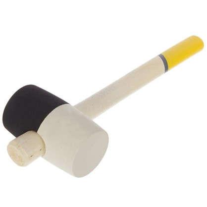 Киянка Systec 680 г резиновая с деревянной ручкой