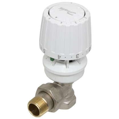 Клапан для радиатора запорный угловой для двухтрубной системы отопления 1/2 дюйма