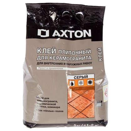 Клей для керамогранита Axton 5 кг