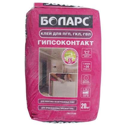 Клей для пазогребневых плит Боларс 20 кг
