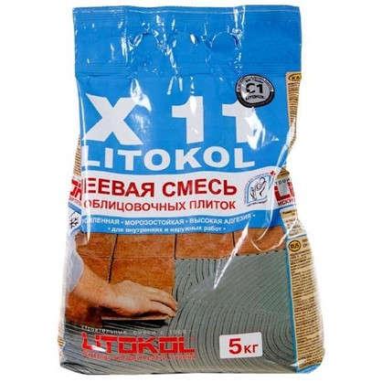 Клей для плитки готовый Litokol X11 5 кг