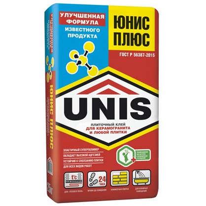 Клей для плитки Юнис Плюс 25 кг