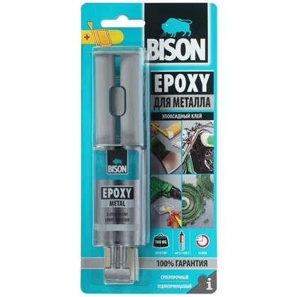 Клей эпоксидный Bison Epoxy Metal 24 мл