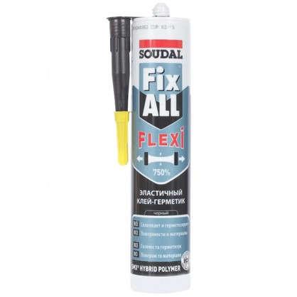 Клей-герметик Fix all classic цвет черный 290 мл