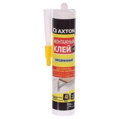 Клей монтажный Axton 310 мл неопрен цвет прозрачный