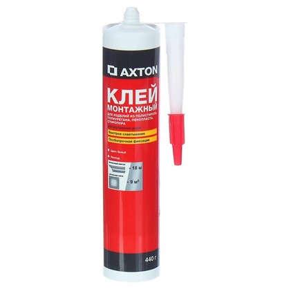 Клей монтажный Axton особопрочный 0.44 кг в картридже