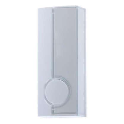 Кнопка для проводного звонка Zamel с/п 220 В цвет белый