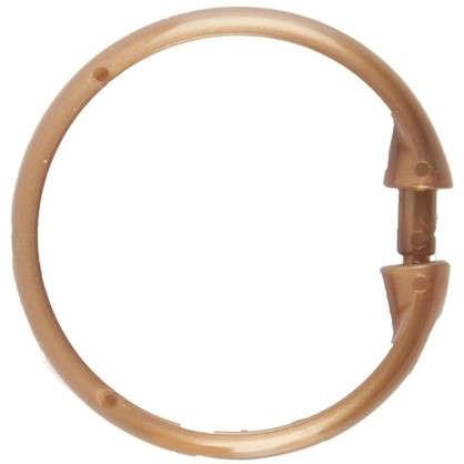 Кольца для шторок круглые Vidage цвет бронза 12 шт