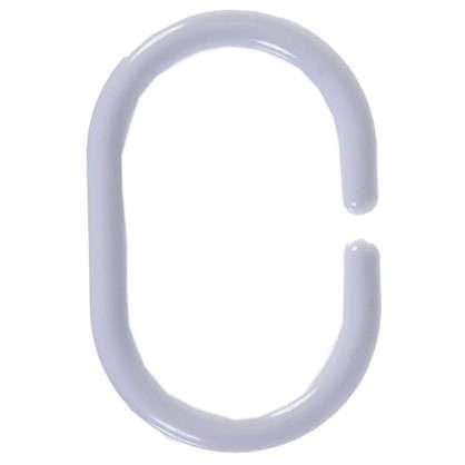 Кольца для шторок Sensea пластиковые цвет белый 12 шт