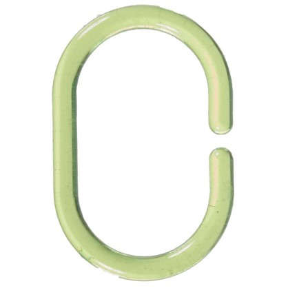 Кольца для шторок Sensea пластиковые цвет зеленый 12 шт
