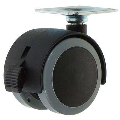 Колесо Alex1-0643 50 мм поворотное с тормозом