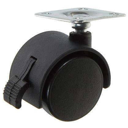 Колесо Boyard N103BL 40 мм поворотное с тормозом