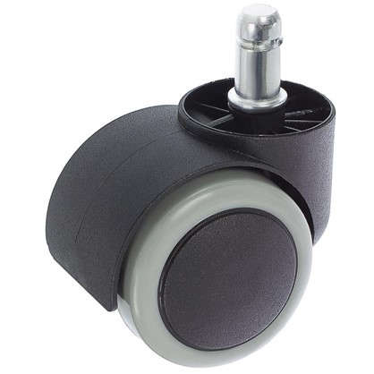 Колесо Boyard N109BL/GR 50 мм поворотное без тормоза цвет зеленый