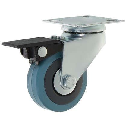 Колесо LCPB-050 50 мм поворотное с тормозом