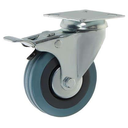 Колесо NF-0130 75 мм поворотное с тормозом