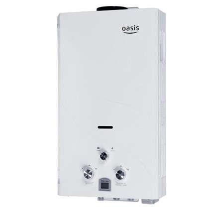 Газовая колонка Oasis 59х34х14 см 10 л/мин белая