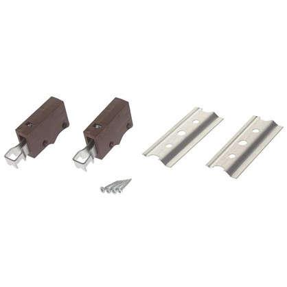 Комплект для навески шкафов 64 кг цвет коричневый