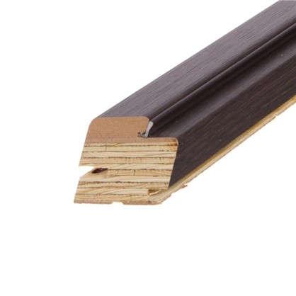 Комплект монтажный (коробка 21-10 наличник фурнитура) цвет чёрный дуб