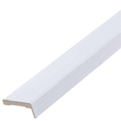 Комплект наличников Модерн бел ясень 2150х70 мм 5 шт. цвет белый ясень