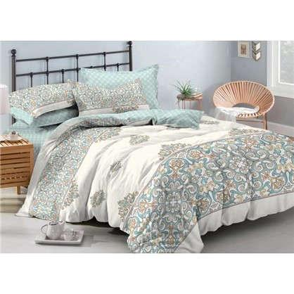 Комплект постельного белья Мозаика 2-спальный сатин