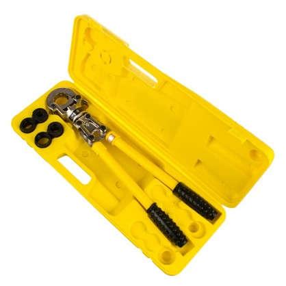 Комплект пресс-инструмент + насадки для опрессовки гильз пресс-соединителей трубопроводных систем